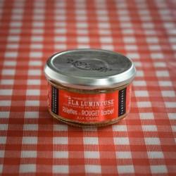 Rillettes de rouget barbet à la tomate