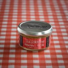 Rillettes de thon au piment d'Espelette