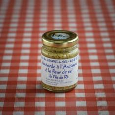 Moutarde à l'ancienne à la fleur de sel