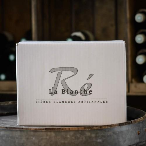 Carton de 15 Bières Blanches de Ré
