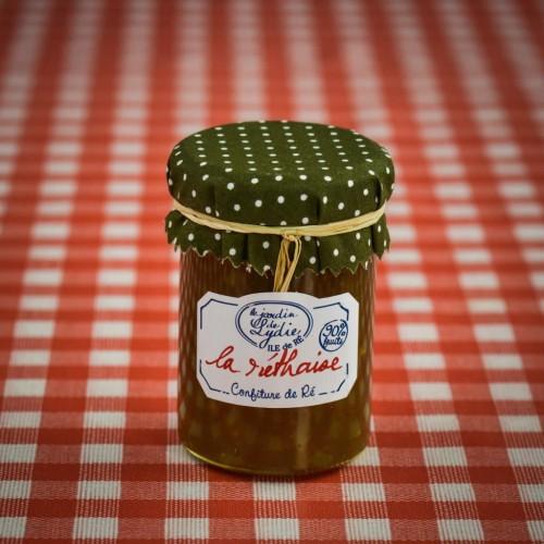 """Pot 250g de confiture artisanale """"La Réthaise"""""""